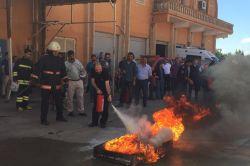 Kızıltepe Devlet Hastanesi'nde yangın tatbikatı yapıldı foto