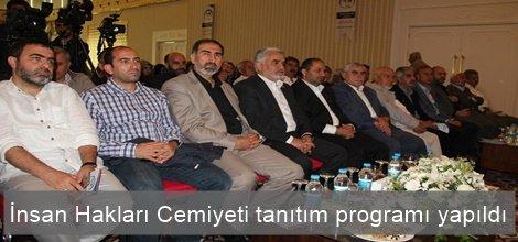 İnsan Hakları Cemiyeti tanıtım programı yapıldı video foto