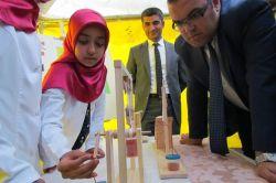 Hilvan'da imam hatip öğrencilerinden bilim fuarı