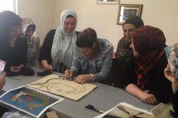 Kızıltepe ÇATOM'da Keçecilik Kursu'na yoğun ilgi