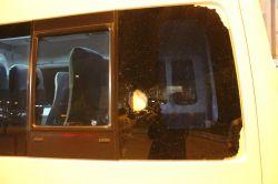 Şoförlerden minibüse saldırı