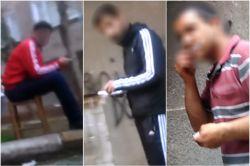 Madde bağımlılarının sokakları mesken edinmesi halkı tedirgin ediyor video foto