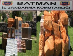 Batman'da 58 bin paket kaçak sigara ele geçirildi