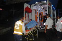 Minibüs takla attı: 10 yaralı