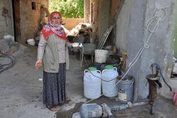 DEDAŞ'ın elektriğini kestiği köylüler konuştu video foto