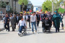 Van'da 'Engelliler Haftası' etkinlikleri başladı video foto