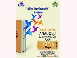 Aliya İzzetbegoviç anısına düzenlenen kitap fuarı başladı