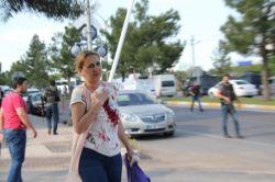 Diyarbakır'daki patlamada anne ve bebeği de yaralandı video foto