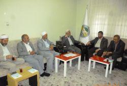 Siyer Vakfı Başkanı İttihadul-Ulema'yı ziyaret etti