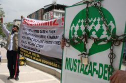 Mustazaf-Der'in kapatılması sürecinde hukuksuzluklar yaşandı video foto