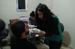 Kızıltepe'de engellilere ağız ve diş sağlığı taraması foto