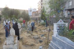 Şırnak'ın Cizre ilçesinde mezarlıkta patlama: 1'i çocuk 2 yaralı video foto