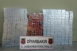 Diyarbakır'da 13 bin paket kaçak sigara ele geçirildi
