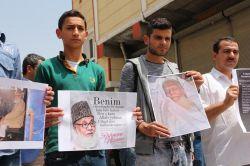 Ceylanpınarlılar Rahman Nizami'nin idamına tepki gösterdi video foto
