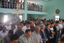 Cizre'de Rahman Nizami için gıyabi cenaze namazı kılındı video foto