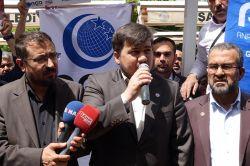 Nizami'nin idam edilmesi Gaziantep'te kınandı video foto