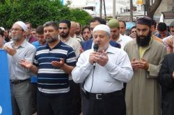Adana'da Rahman Nizami için gıyabi cenaze namazı kılındı video foto