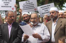 Şanlıurfa'da Nizami'nin idamı nedeniyle basın açıklaması yapıldı video foto