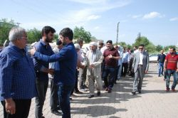 İslami STK'lardan Tanışık köyüne taziye ziyareti video foto