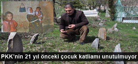 PKK'nin 21 yıl önceki çocuk katliamı unutulmuyor video foto