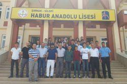 Silopi'de 23 öğrenci geziye gönderildi