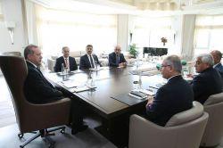 Cumhurbaşkanı Erdoğan Kilis heyetini kabul etti