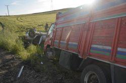 Batman-Bismil yolunda kaza: 5 yaralı