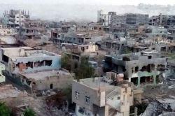 Nusaybin'deki yıkımın boyutu fotoğraf karesine yansıdı
