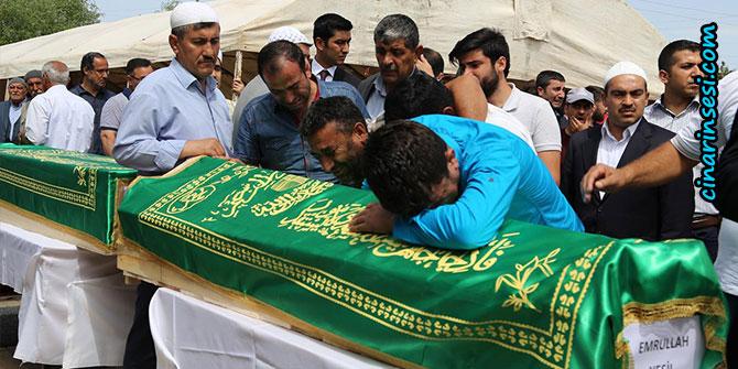13 kişinin cenazesi Tanışık köyüne getirildi