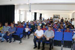 Öğrencilere stresle mücadele semineri verildi