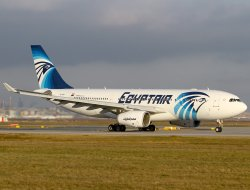 Mısır uçağının enkazı bulundu