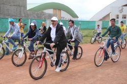 Bingöl'de öğrencilere 400 bisiklet dağıtıldı foto