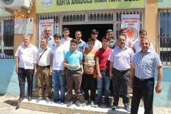 Kâhta Anadolu İmam Hatip Lisesi'nden veliler kitap okuyor yarışması foto