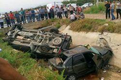 Mersin'in Akdeniz ilçesinde evli çift geçirdikleri kazada hayatlarını kaybetti foto