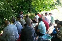 İtalya'da Müslüman gençler piknikte buluştu