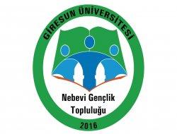 GRÜ'de 'Nebevi Gençlik Topluluğu' kuruldu