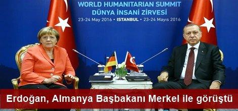 Merkel, Erdoğan'la yaptığı görüşme sonrası açıklamalarda bulundu
