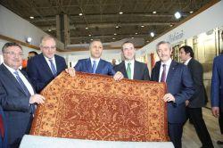 Gaziantep'te 'Uluslararası Domotex Halı Fuarı' açıldı