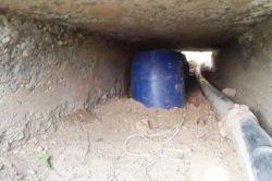 Mardin'de 225 kilo bomba bulundu