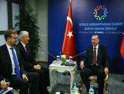 Cumhurbaşkanı Erdoğan, Avrupa Konseyi Genel Sekreterini kabul etti