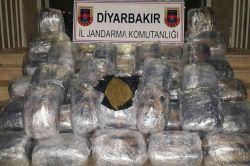 Diyarbakır'da uyuşturucu baskını