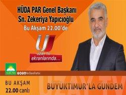 Yapıcıoğlu Uzay TV Konuğu Olacak