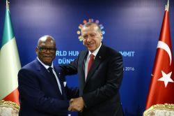 Cumhurbaşkanı Erdoğan'ın liderlerle ikili görüşmeleri sürüyor