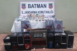 Batman Valiliğinden 'Bahis' baskını açıklaması
