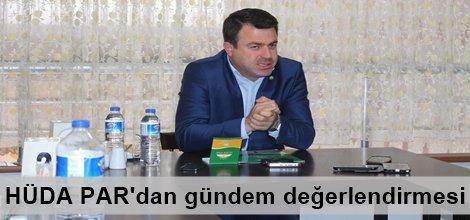 HÜDA PAR Genel Sekreteri Yavuz gündemi değerlendirdi foto