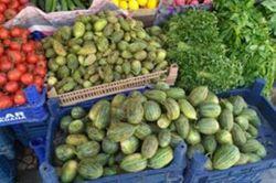 Viranşehir'in meşhur sebzesi şelengo tezgâhlarda