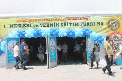 Şanlıurfa'da 1. Mesleki ve Teknik Eğitim Fuarı açıldı foto