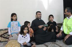 Suriyeli aileye yardım eli uzatıldı