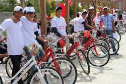 Vanda hareketli hayat kapsamında 6 bin bisiklet dağıtıldı foto