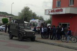Bingöl'ün Genç ilçesinde dur ihtarına uymayan 3 kişi vurularak yaralı yakalandı foto
